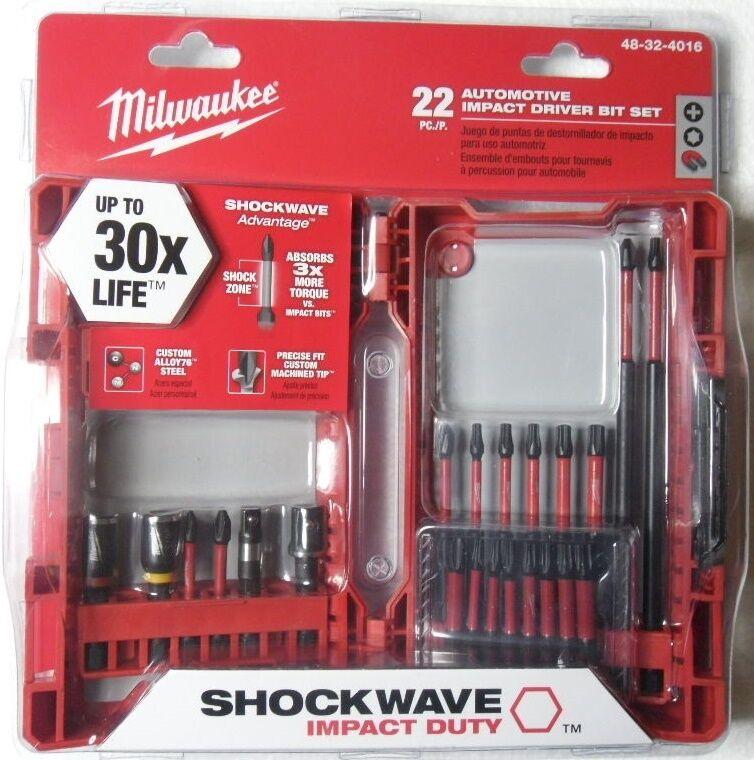 Milwaukee Shockwave Automotive Impact Driver Bit Set Torx