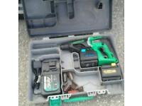 Hitachi hammer drill 24v