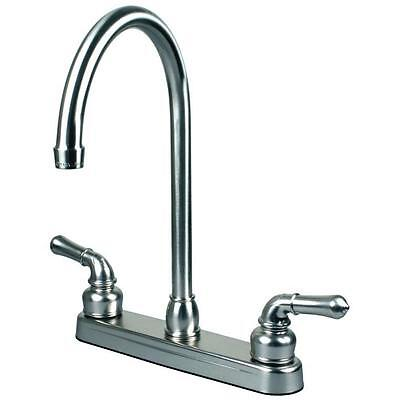RV Portable Motor Home Kitchen Sink Faucet Swivel Spout Chrome Finish