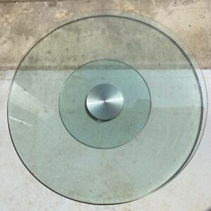 """Tempered GLASS Lazy Susan 32"""" / 80cm for Round Dining Table"""