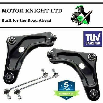 PEUGEOT 207 2006> FRONT SUSPENSION CONTROL ARMS / WISHBONES & LINKS - LH & RH