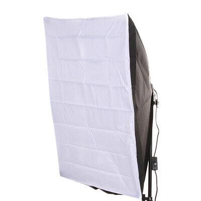 Single Softbox Kit - Photo Studio Kit  50*70cm Lighting Softbox+E27 Single Socket Lamp Head US Plug