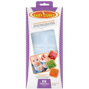 Baby Cubes est un moyen pour préparer des aliments pour bébés