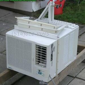 """Air conditioner climatiseur 6000 btu numérique largeur 17¾"""" AC"""