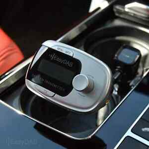 Universal Car/Auto DAB Tuner/Adapter/Adaptor Plug-and-Play + Glass Mount Antenna