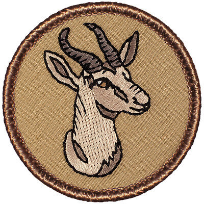 Great Boy Scout Patrol Patch - Gazelle Patrol (#560)