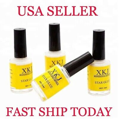 1Pcs XKJ Nail Art Glue Adhesive for Foil Sticker Nail Transfer Tips Decorations