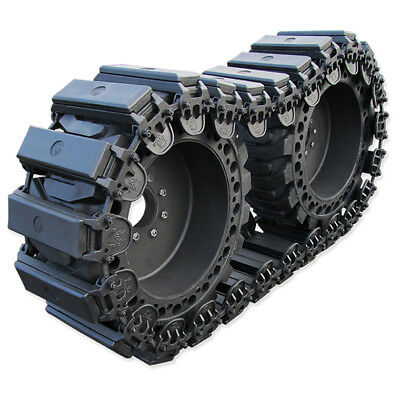 Prowler 10 Inch Fusion Rubber Skid Steer Over The Tire Tracks - Ott 10x16.5