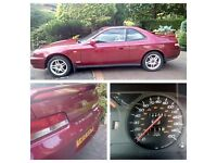 Amazing 1999 T REG HONDA PRELUDE 2000 SPORT AUTOMATIC. Bordeaux red. Petrol
