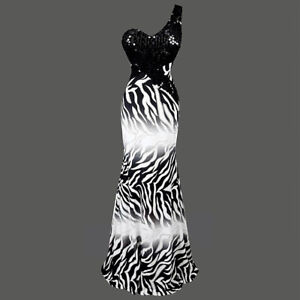 Gorgeous Animal Print Dress with Sequins (Never Worn)