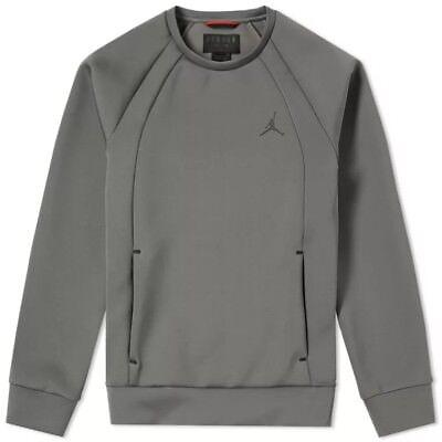 super popular 3b585 b9d1d BNWT Size Large Men s Nike Air Jordan Flight Tech Crew Sweatshirt 879495-018