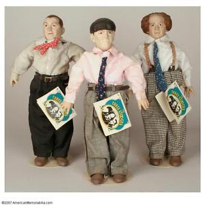 THE THREE STOOGES DOLLS (1991) West Island Greater Montréal image 1