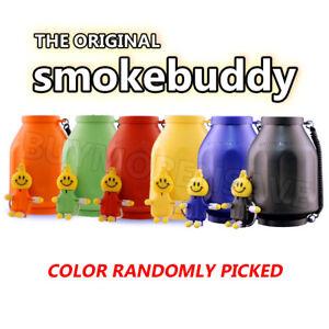 THE ORIGINAL SMOKE BUDDY PERSONAL AIR FILTER (Color May Be Vary Randomly Picked)