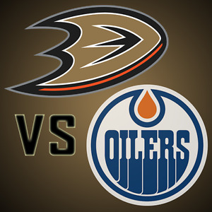 ★★Edmonton Oilers vs. Anaheim Ducks SAT Apr 1 8:00PM ★★