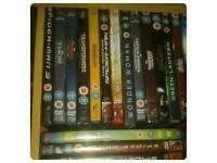Marvel & DC DVDs big bundle