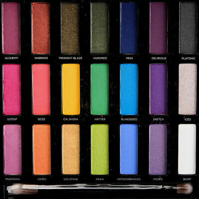 Authentic Urban Decay Full Spectrum Eye Palette Eyeshadows Pink Purple makeup UD for sale  Shipping to Canada