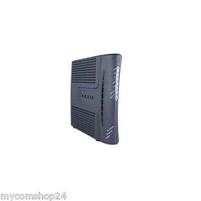 Arris Touchstone TM502B Telefon Kabelmodem in Schwarz NEU OVP
