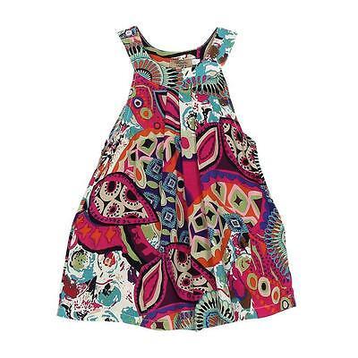 Beach Dresses Girls Bohemian Knee-length Dresses Baby Girl for Girl Kids 110