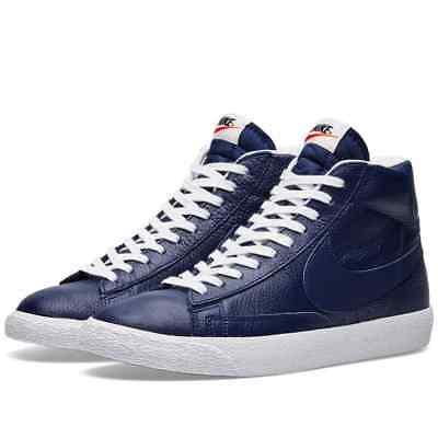 New Men's Nike Blazer Mid PRM Premium Leather Casual Sneakers Size 9