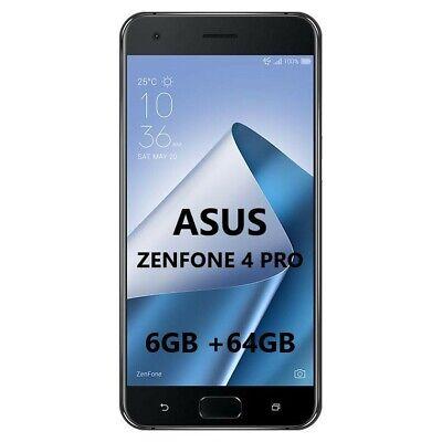 SMARTPHONE ASUS ZenFone 4 Pro 6GB RAM+64GB Black Nero 5,5
