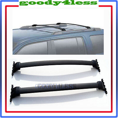 09-15 11 12 Honda Pilot OE Style Roof Rack Cross Bars Set Luggage Carrier Bar