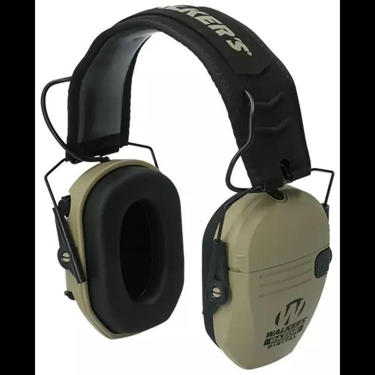 Walkers RAZOR PRO Digital Electronic Ear Muffs Tan GWP-DRSEM