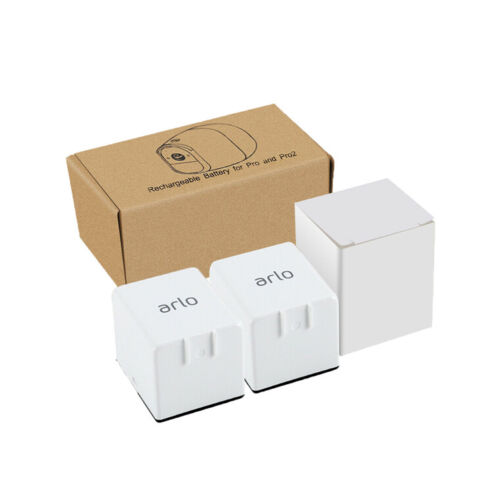 Genuine Extra Rechargeable Battery for ARLO PRO, PRO 2, LIGHT Camera VMA4400 X2