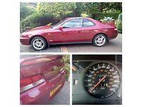 Amazing 1999 T REG HONDA PRELUDE 2000 SPORT AUTOMATIC. Bordeaux red. Petrol