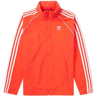 Adidas Originals 90 Retro Style SST Superstar Windbreaker Track Jacket CW1310 B Adidas Originals Superstar Track