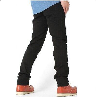 Levi's 511 Men's Slim FIT BLACK Jeans W:28 to 42 ,L:30 to 36  (04511-2694)