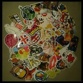 Stickers job lot
