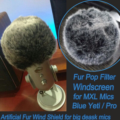 Asmr Wind Shield For 3dio Headrec Free Space Binaural Mic Outdoor Fur Windscreen Audio For Video