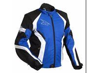 New motorbike jacket with pading