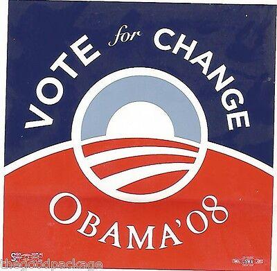 Barack Obama President Vote Change 2008 Bumper Sticker