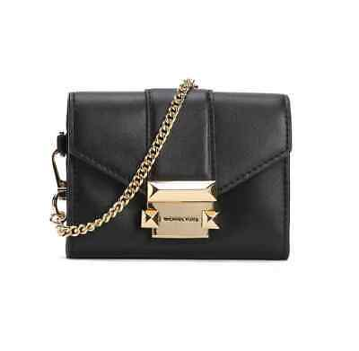 Michael Kors Ladies Whitney Small Leather Chain Wallet 32H8GWHC1L-001