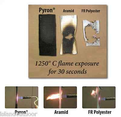 Pyron Carbon Fiber Welding Blanket Self Extinguishing Fire Retardent Proof 18