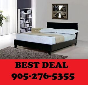 aux Leather Bed Single, Double OR Queen $169