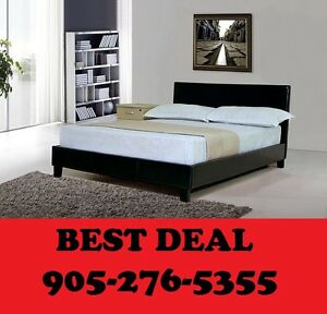 Faux Leather Bed Single, Double OR Queen $169