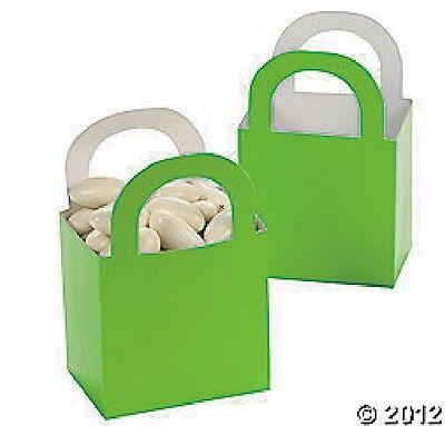 Lime Green Basket Favor Boxes Birthday WEDDING Treat #37446](Lime Green Wedding)