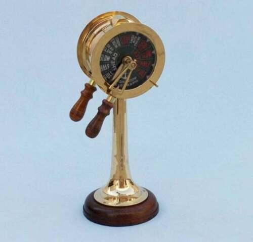 Brass Titanic Engine Room Telegraph, Nautical decor, marine gift, nautical gift,