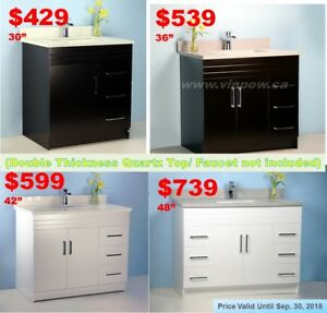 Trending, Affordable Quality Bath Vanities for Sale from $99