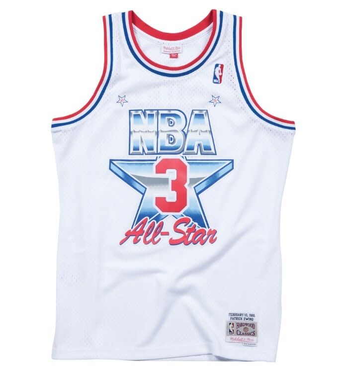 sports shoes 153d6 1b46c Details about Mitchell & Ness Patrick Ewing 1991 ALL Star Eastern  Conference Swingman Jersey