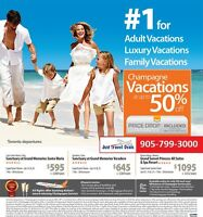 Cuba & Mexico Champagne Vacations at up to 50% off