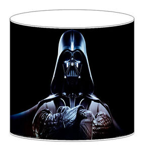 star wars darth vader lampshades ceiling light table lamp bedding curtains ebay. Black Bedroom Furniture Sets. Home Design Ideas