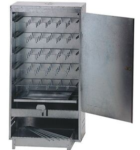LARGE BOX FISH AND MEAT BBQ COLD OR HOT FOOD SMOKER COOKER + WOOD CHIPS & BRINE