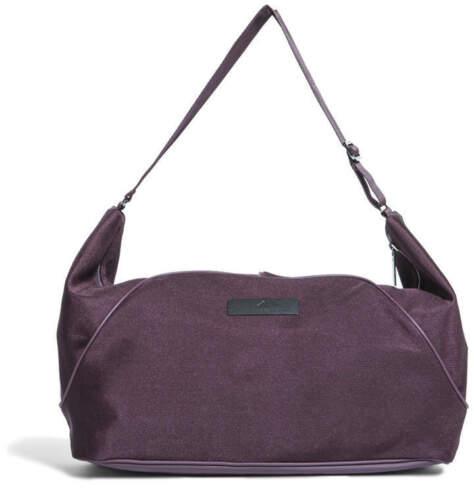 Adidas Stella McCartney RTD Essentials Gym Fitness Yoga Duffel Bag $125 Burgundy