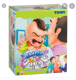 Tomy burp baby game and coin push game