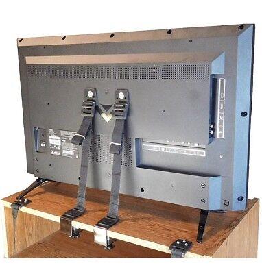 Adjustable Anti-Tip TV Dresser Anchor Set 8 PC Baby Safety Wall Straps Bébé (Tip Tv)