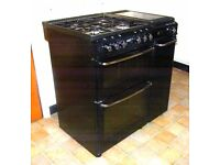 Black Range-Style Stoves Envoy 850DODLM Gas Cooker + Electric Hotplate - LOCAL FREE DELIVERY