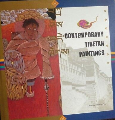 Contemporary Tibetan Paintings by Lei Jia 2001 new